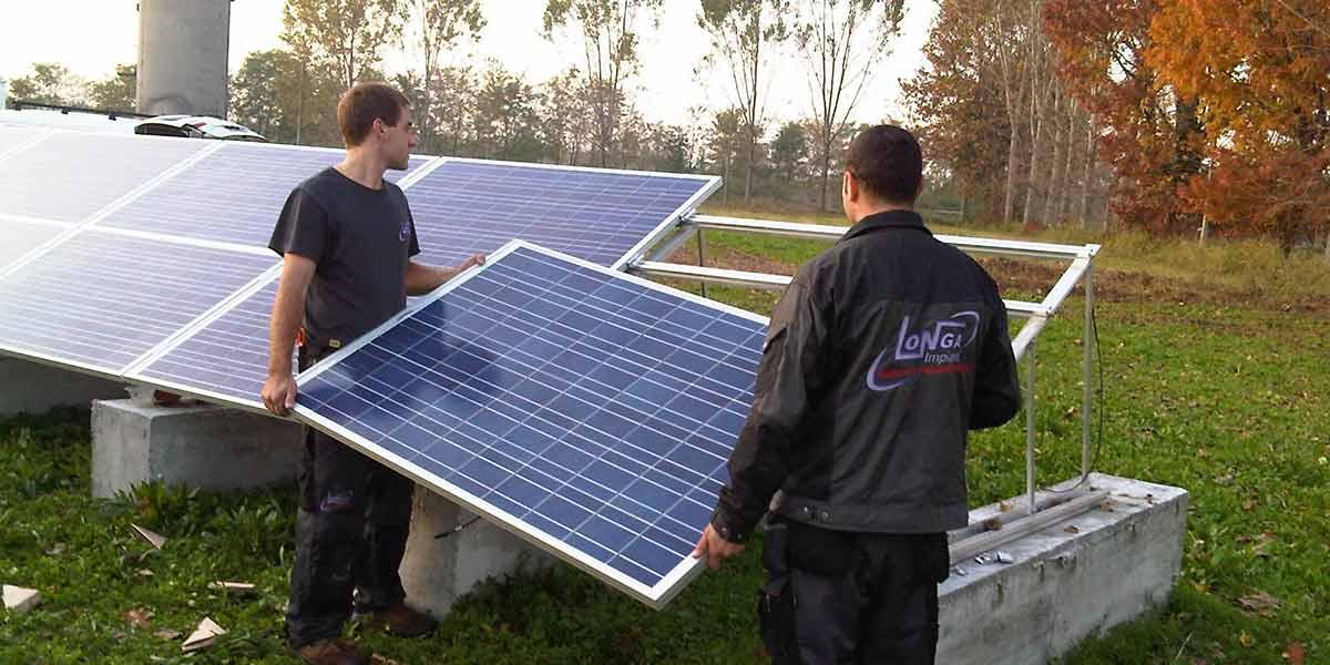 Impianto Fotovoltaico - Longa Impianti